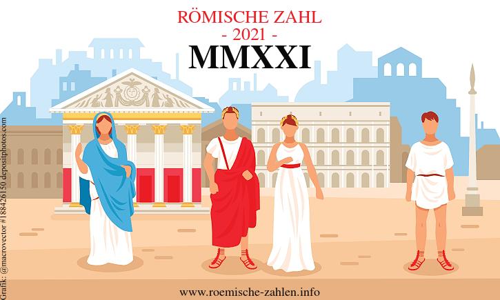 Römische Zahl 2021