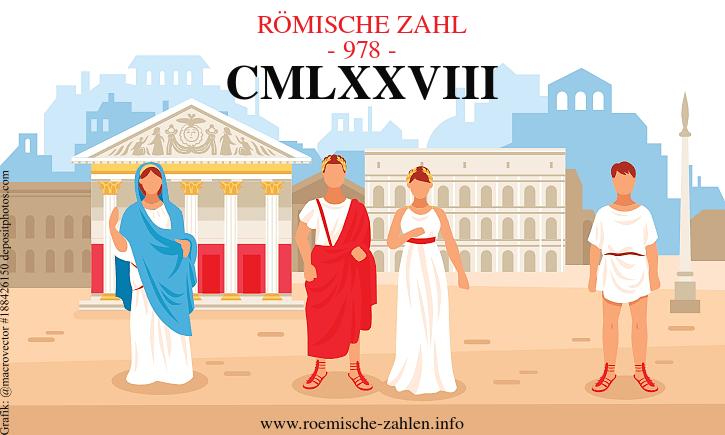 Römische Zahl 978